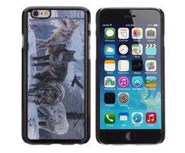 Cover 3D Avec Les Loups Pour IPhone 6