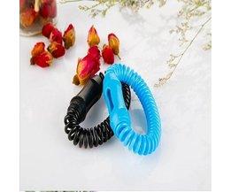 Bracelet Anti-Moustiques En Trois Couleurs