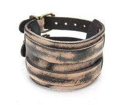 Bracelet En Cuir Unisexe