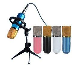 Microphone Professionnel Avec Shock Mont BM700