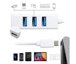 Micro Splitter USB Avec 4 Ports