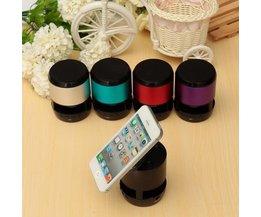 Haut-Parleur Portable Avec Ventouse Pour Smartphones