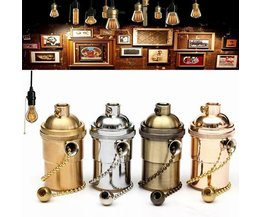 Brass Retro Vitting Pour Une Lampe
