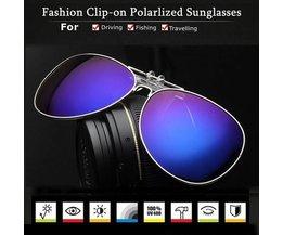 Clip Sur Lunettes De Soleil Polaroid En Différentes Couleurs