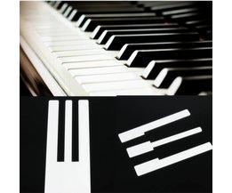 Nouvelles Touches Blanches Recouvertes Pour Votre Old Piano