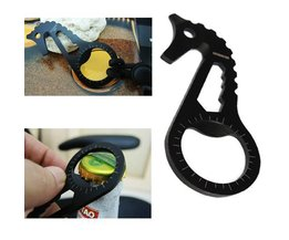 Keychain Bière Opener Forme Seahorse