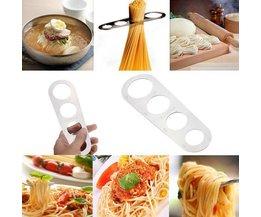Spaghetti Compteur Acier Inoxydable Poli