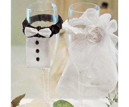 Décoration De Mariage Pour Les Lunettes