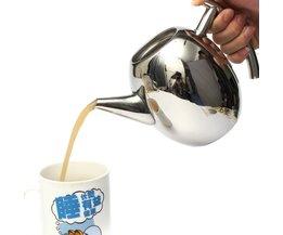 Teapot En Acier Inoxydable
