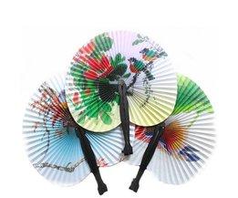 Paper Folding Fan