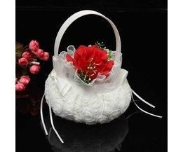 Panier De Fleurs De Mariage