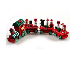 Noël Train Bois