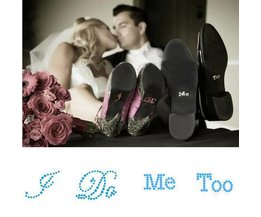 Autocollants De Mariage De Chaussures