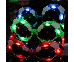 Lunettes De Soleil Coupe Du Monde Avec LED