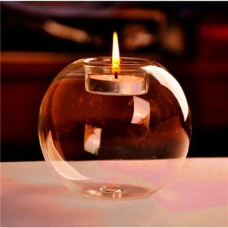 Verre Candle Holder Globe