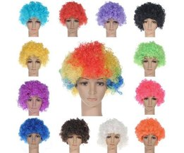 Colorful Perruque Afro