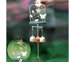 Chimes À Vent Avec Des Papillons Et Bubbles 3