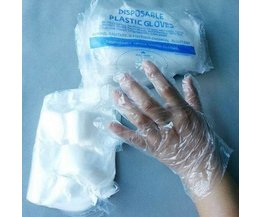 Gants Jetables En Plastique Transparent 30 Pièces