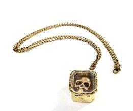 Collier Avec Skull