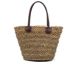 Wicker Beachbag