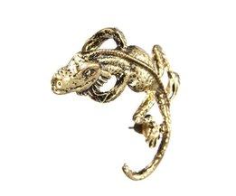 Boucles D'Oreilles Lizard