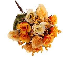 Fleurs En Soie Rose