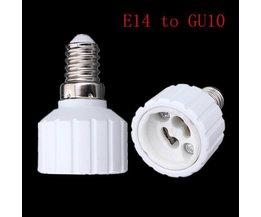 E14 Pour GU10 Douille Adaptateur