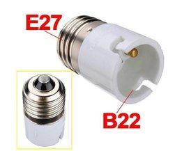 B22 Pour E27 Socket Converter