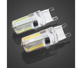 Dimmable G9 5W LED De Maïs Lampe En Deux Couleurs