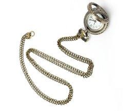 Vintage Pocket Watch Tour Eiffel