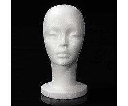 Perruque Holder Styrofoam