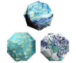 Parapluies Imprimés Avec De L'Huile Imprimer