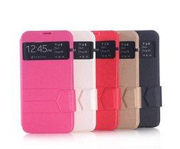 Housse En Cuir PU Pour Samsung Galaxy S6 G9200