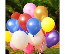 Latex Party Balloons (100 Pieces)