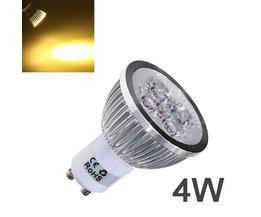 GU10 LED Projecteurs Avec Lumière Blanche Chaude
