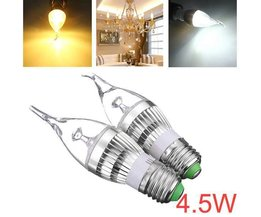 Dimmable Ampoule LED Candle-Forme E27 4.5W