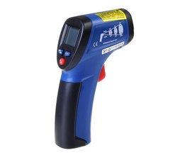 CEM DT-812 Thermomètre Gun Avec Laser