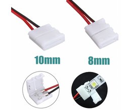 Power Adapter Connecteur Pour Bande LED 3528/5050