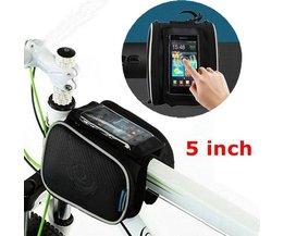 Sac Cadre De Bicyclette 1.8L Écran Du Téléphone Étanche