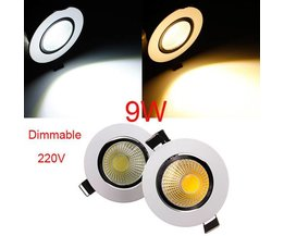 Plafonnier LED 9W Dimmable