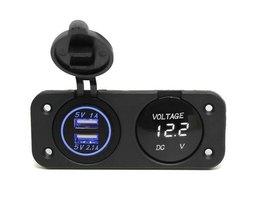 Voltmètre Voiture Et Adaptateur USB