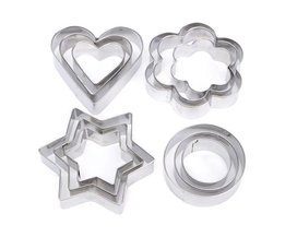 Pastry Cutter Set 12 Pieces