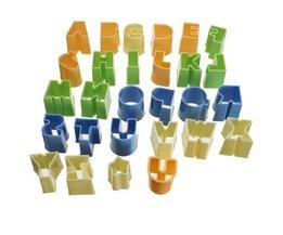 Cookie Cutter Alphabet Set 28 Pieces