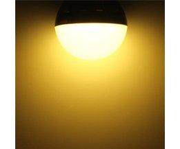 E27 6W Ampoules LED Avec Lumière Blanche Chaude