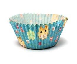 Mini Muffin Avec La Forme De Félin Design 100 Pièces