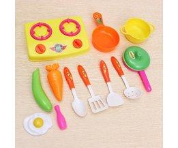 Accessoires Enfants Cuisine 13Stuks