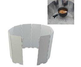Aluminium BBQ Pare-Brise
