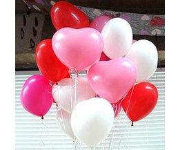 Herz-Ballone 50Pcs