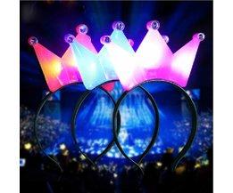 Crown Mit LED-Licht Für Festivals
