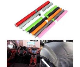 Carbon-Faser-Vinylverpackung Für Auto